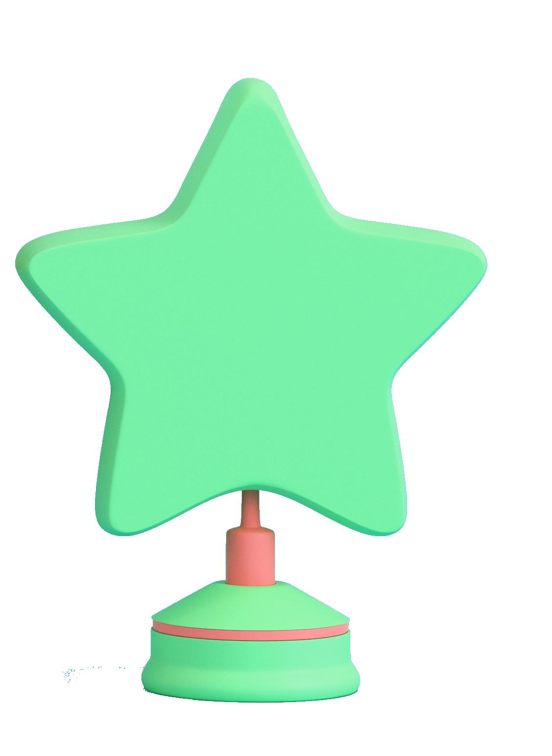 Illustration etoile verte pour Formation présentielle